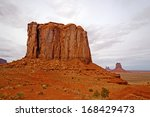 Cly Butte In Monument Valley In ...