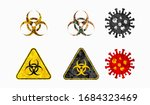 corona virus covid 19 and bio... | Shutterstock .eps vector #1684323469