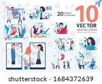 modern clinic or medical center ...   Shutterstock .eps vector #1684372639
