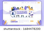 prevention campaign  together... | Shutterstock .eps vector #1684478200