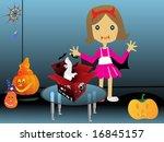 cartoon illustration of... | Shutterstock .eps vector #16845157
