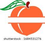 Peach Fruit Vector  Peach...