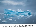 Antarctic Landscape With...