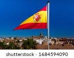 The Flag Of Spain  A Horizontal ...