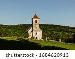 Old White Church In The...