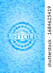 untold realistic sky blue... | Shutterstock .eps vector #1684625419