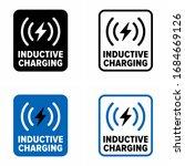 """inductive charging"" wireless... | Shutterstock .eps vector #1684669126"