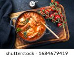 Traditional brazilian fish stew ...