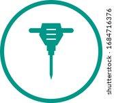 beautiful drill glyph vector... | Shutterstock .eps vector #1684716376