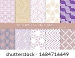 simple geometric texture....   Shutterstock .eps vector #1684716649