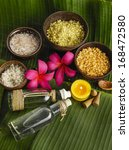 health tropical spa sitting | Shutterstock . vector #168472580