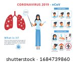 covid 19 coronavirus...   Shutterstock . vector #1684739860
