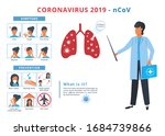 coronavirus covid 19 disease...   Shutterstock . vector #1684739866