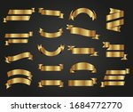 variety of cute ribbons set | Shutterstock .eps vector #1684772770