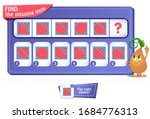 educational game for kids and... | Shutterstock .eps vector #1684776313
