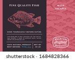 premium quality wild tilapia...   Shutterstock .eps vector #1684828366