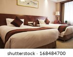 Stock photo hotel room 168484700