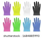 disposable  color vector... | Shutterstock .eps vector #1684885993