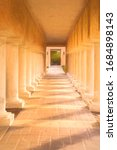 Perspective Of Colonnade With...