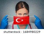 Coronavirus In Turkey Female...