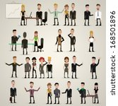 business people | Shutterstock .eps vector #168501896
