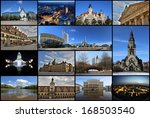 cityscape leipzig  collage | Shutterstock . vector #168503540