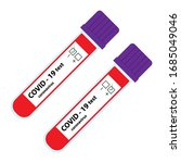 new coronavirus blood test... | Shutterstock .eps vector #1685049046