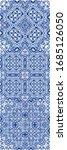 ceramic tiles azulejo portugal. ... | Shutterstock .eps vector #1685126050