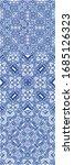 portuguese vintage azulejo... | Shutterstock .eps vector #1685126323
