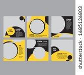 editable minimum square banner... | Shutterstock .eps vector #1685126803
