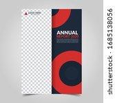 modern business cover for... | Shutterstock .eps vector #1685138056