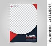 modern business cover for... | Shutterstock .eps vector #1685138059