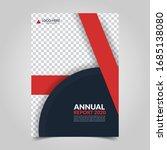 modern business cover for... | Shutterstock .eps vector #1685138080
