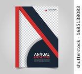 modern business cover for... | Shutterstock .eps vector #1685138083
