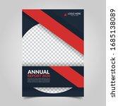 modern business cover for... | Shutterstock .eps vector #1685138089