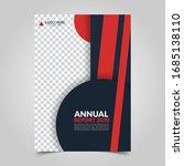 modern business cover for... | Shutterstock .eps vector #1685138110