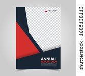 modern business cover for... | Shutterstock .eps vector #1685138113