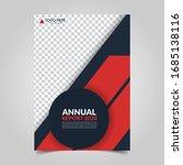 modern business cover for... | Shutterstock .eps vector #1685138116
