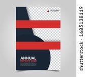 modern business cover for... | Shutterstock .eps vector #1685138119