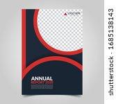 modern business cover for... | Shutterstock .eps vector #1685138143