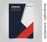 modern business cover for... | Shutterstock .eps vector #1685138146
