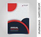 modern business cover for... | Shutterstock .eps vector #1685138149