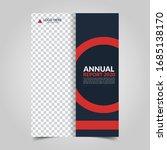 modern business cover for... | Shutterstock .eps vector #1685138170