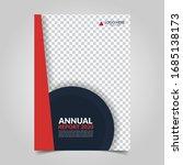modern business cover for... | Shutterstock .eps vector #1685138173