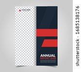 modern business cover for... | Shutterstock .eps vector #1685138176