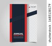 modern business cover for... | Shutterstock .eps vector #1685138179