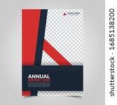 modern business cover for... | Shutterstock .eps vector #1685138200