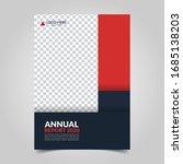 modern business cover for... | Shutterstock .eps vector #1685138203