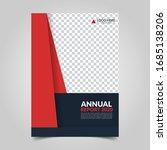 modern business cover for... | Shutterstock .eps vector #1685138206