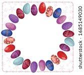 frame of multi colored ... | Shutterstock .eps vector #1685149030
